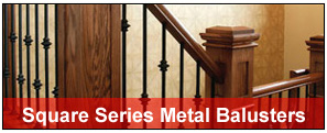 Round Metal Baluster Sets